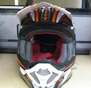 New PROGRIP 3090 COMPOSITE MOTORBIKE HELMET KTM ORANGE ENDURO TRAIL Size S rukka